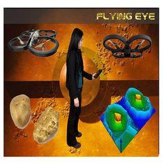 Flying Eye tarayıcı uçması ile zorlu arazi şartlarında rahatlıkla tarama yapan dedektör konumundadır. Bu 3d EMSR radar, taranmakta olan zeminin alt kısmının 3d grafiğini oluşturan yeraltı radar cihazıdır. yirmi metre derinliğe kadar metaller, boşluklar ve suyu tespit etmek mümkündür. Gökyüzünde bağlantı 250 metre olup kopması durumunda kendiliğinden size döner. Bilgisayarınızdaki Yazılımında 3D inceleme olanağı, derinlik bilgileri analizi mevcuttur.