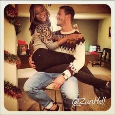 Beautiful interracial couple Mett & Zuri #love  #swirl