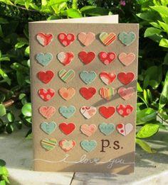 SCRAPeria: P.S., I Love You! Cartão de Terça