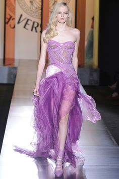 Versace Fall Couture 2012