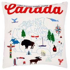 Canada pillow...love