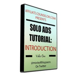 This Solo Ads Tutorial explains how they are an excellent way to build a list or to interest a targeted audience in purchasing your product or service.