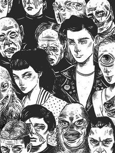 Digital Illustration - Sabrina Elliott