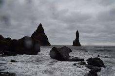 Reynisfjara, schwarzer Strand