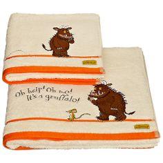 Buy Gruffalo Children's Towels, Multi Online at johnlewis.com
