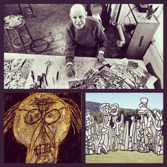 Happy birthday Jean Dubuffet  (31.07.1901-12.05.1985)