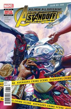 All-New All-Different Avengers #8 ASO Marvel Comics (2016)