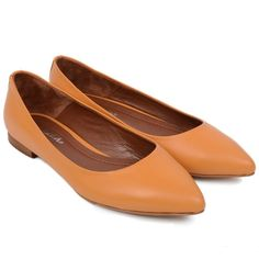 #balerini #orange #fashion #freak Orange Fashion, Flats, Shoes, Loafers & Slip Ons, Zapatos, Shoes Outlet, Shoe, Footwear, Ballerinas