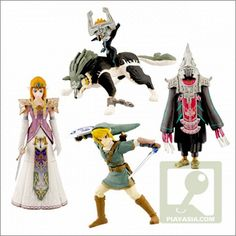 legend of zelda figures    but the only two needed are the Links.