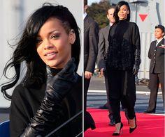Rihanna's new look