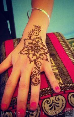 32. #цветок - 35 невероятное хна тату #дизайн вдохновения... → #Beauty