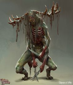 Grimlords Games - Village Attack Concept art dump, Bjorn Hurri