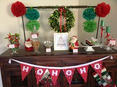 Red and Green Christmas Party #christmas #party