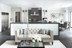 Things We Love: Chesterfield Sofas - Design Chic - DECORATING AROUND YOUR SOFA!