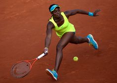 USAs Sloane Stephens returns to Russias Maria Sharapova during their French Tennis Open round of sixteen match at the Roland Garros stadium in Paris, on June 3, 2013. MARTIN BUREAU/AFP/Getty Images