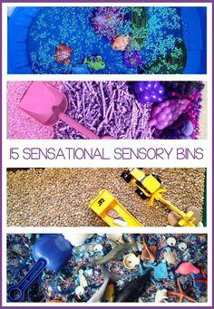 15 {Sensational} Sensory Bins - Kids Activities Blog