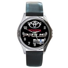 Leatherband Toyota Prius Watch by hwandikaiko on Etsy