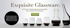 Riedel Wine Glasses and Riedel Decanters Glass Company, Wine And Beer, Wine Glass, Wine Bottles