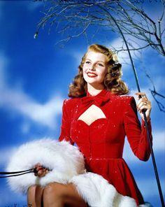 Rita Hayworth1940's via vintagegal