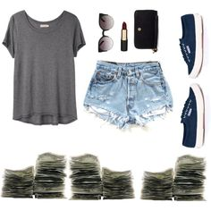 Summer outfit with supergas