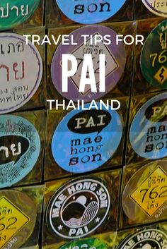 10 Tips For Travel To Pai, Thailand via @onemoderncouple