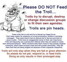 Deport ALL illegal trolls whether on the Left OR on the Right, Christian Conservatives OR Liberal Atheists!!! You can openly disagree w/ my views but do so in a tactful and respectful manner… In a nutshell… Be nice or be gone!!!