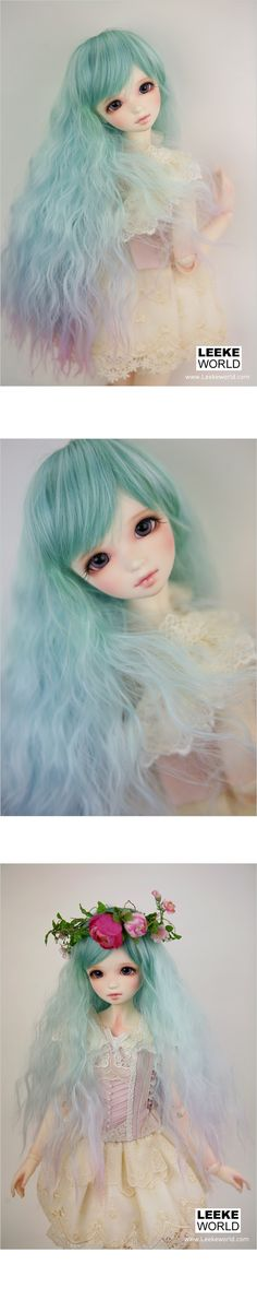 Leeke World Fairy Art Wig - Do want, it's so gorgeous >.>