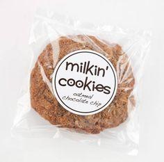 FREE Milkin' Lactation Cookies 4-pack
