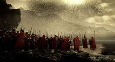 300 Men knowingly entering a battle against impossible odds with no chance of survival. The stuff of legends. (The Bod's were awesome too)
