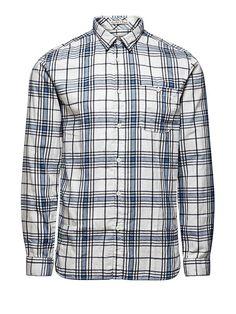 ORIGINALS by JACK & JONES - Langärmeliges Hemd von ORIGINALS - Slim fit - Standardkragen - Geknöpfte Brusttasche - Twill-Qualität 100% Baumwolle...