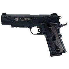 Taurus PT1911 Semi Auto Handgun .45 ACP 5 Barrel 8 Rounds Blued Finish Black Checkered Grips Picatinny Rail 1911B-1