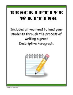 This is a lesson for middle school language arts classrooms (grades 6-8) on descriptive writing. Many times students have a hard time understanding how to be creative with their writing. This lesson helps them break down that wall and become better creative writers. I will be using this in my classroom if I ever teach middle school!