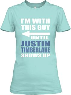 I totally just bought this Limited Edition Justin Timberlake shirt. I had to…