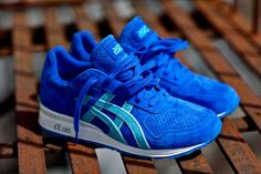 "A little on the bright side but they are still sick. Ronnie Fieg x ASICS GT II ""Ultra Marine"""