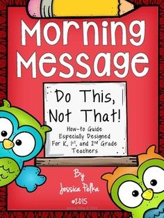 Morning Message - Its not what it used to be...Come find out all about a new approach to this well-loved instructional too.  Freebie for just a little while :)