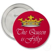 50th birthday The Queen is 50! Pins