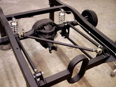 Rear Suspension And Chassis Tuning - Hot Rod Network Hot Rod Trucks, Mini Trucks, Chevy Trucks, Custom Rat Rods, Custom Cars, Rat Rod Build, Suspension Design, Chevy Pickups, Metal Fabrication