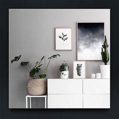 • w h i t e & g r e y • #beautifulspaces #white #decor