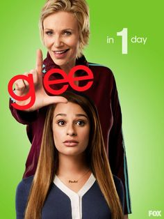 Glee Promo Season 4 poster ONLY 1 MORE DAY!!!
