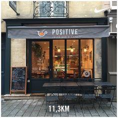 Petit crochet par la rue de Satory. J'ai très envie d'aller déguster un jus bio chez @positivejuicebar #positivejuicebar #ParisMarathon #SemiParis #training