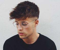 Mens Straight Spiky Hair