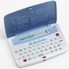 Pocket Crossword and Anagram Solver - Buy from Prezzybox.com #prezzybox #fathersday #gifts