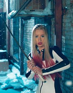 """Don't mess with these chicks! Rita Ora and Iggy Azalea channeled Kill Bill in their new music video for """"Black Widow"""". Gotta love a girl with a samurai sword! Watch it now!"""
