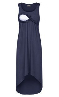 High-low nursing dress!