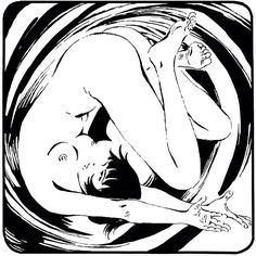 Valentina, born in 1965 by hand of Guido Crepax.