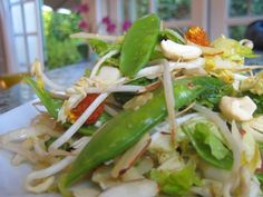 Chinese Chopped Salad...could add organic chicken. Julie Morris author of Superfood Kitchen