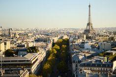 On Top of L'Arc de Triomphe