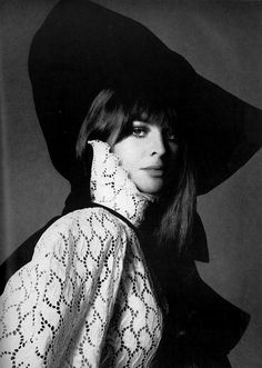Julie Christie by Avedon (1968)
