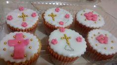 Cupcakes primera comunión niña