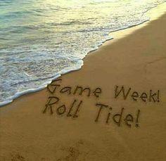 Game Week, Roll Tide!